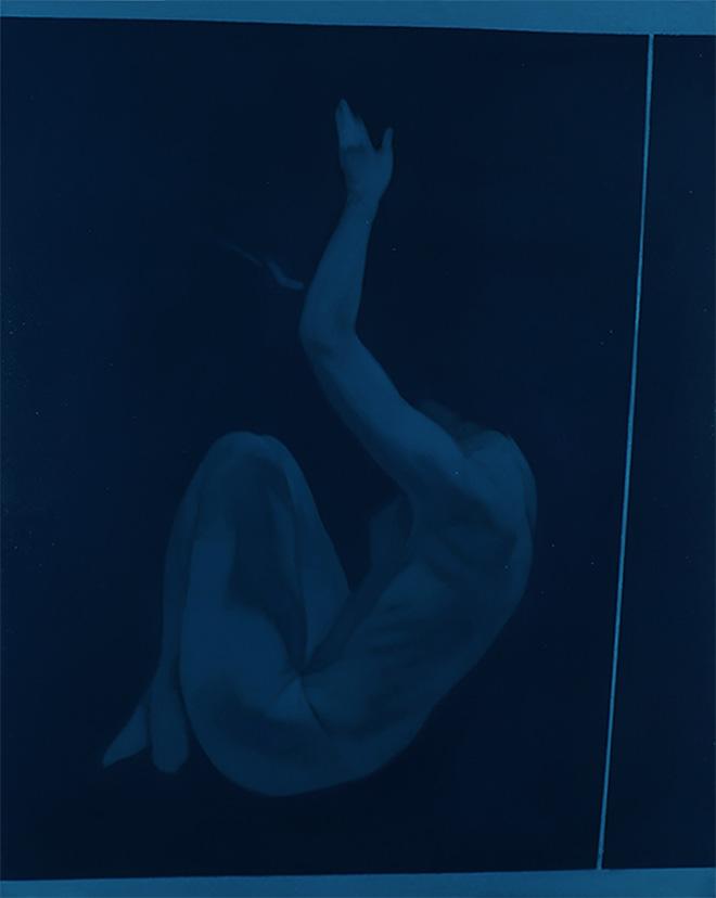 Simone Geraci - Fall, olio su tela, 100 x 80 cm, 2019