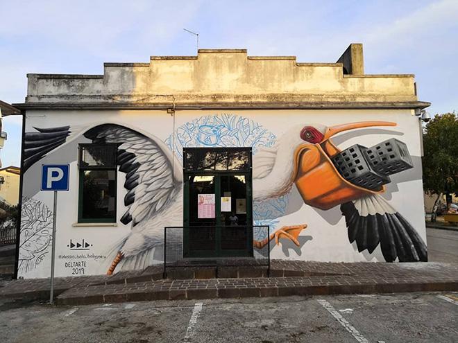 DeltArte, SAVE THE PLANET – Street art per l'ambiente e i diritti umani