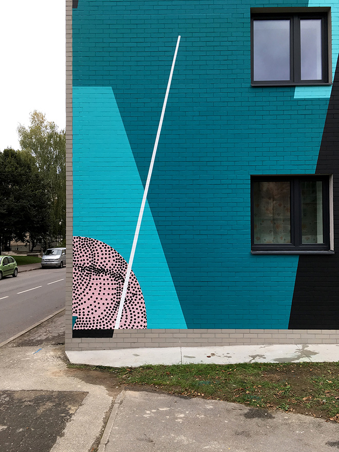 Seikon + Anastasia Papaleonida - Mural, Tartu (Estonia), 2019