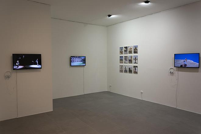 Stefano Romano - Monumenti Impermanenti, installation view, Fondazione Pini