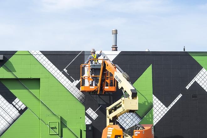ZEDZ - Mural, Erie, Pennsylvania (USA), 2019. photo credit: Bryan Geary