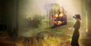 Mona Lisa: Beyond the Glass at The Louvre, HTC VIVE ARTS