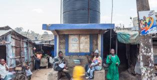 Filippo Romano - Water Tanks Mathare, Nairobi