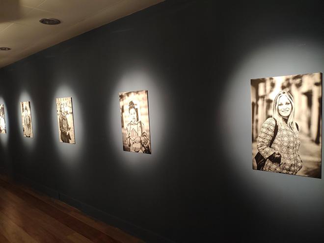 Pino Bertelli - I volti di Poietika, installation view, Palazzo GIL, Campobasso. photo credit: Francesca Grispello