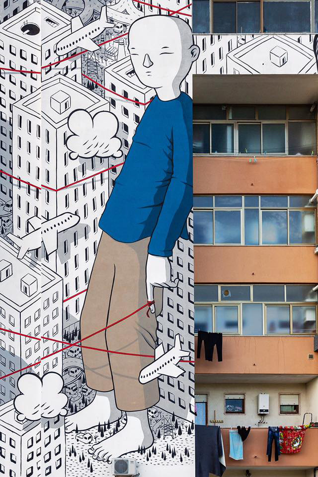 Millo - Wish, 167/B street, Lecce, Italy, 2019. photo credit Sergio Manzone