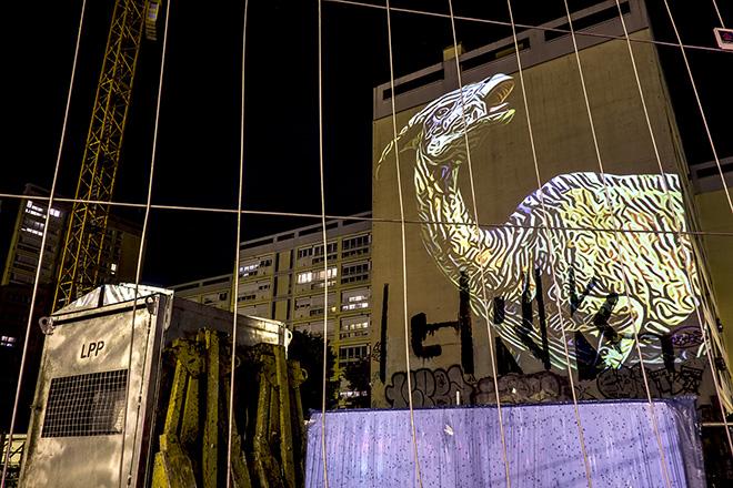 The Yellow Parasaurolophus II - Julien NONNON, Prehistoric Safari, Paris, ©Julien NONNON