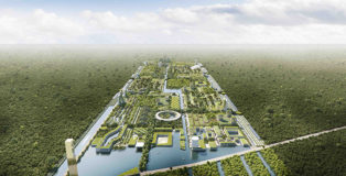 Stefano Boeri Architetti - Smart Forest City Cancun. photo credit: The Big Picture Federico Biancullo
