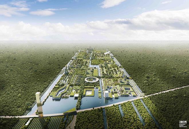 Stefano Boeri Architetti  – Smart Forest City Cancun