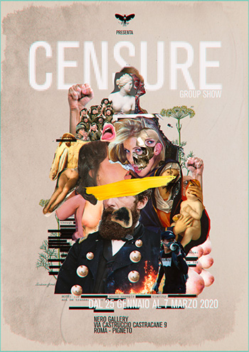 CENSURE GROUP SHOW - Nero Gallery