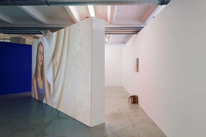 Installation view of L'Obstruction. Group show Vos Desirs sont les notres, La Friche Belle de Mai, Marseille. Ph: Aurelien Mole. Courtesy of the artist and Piedras Gallery, Buenos Aires