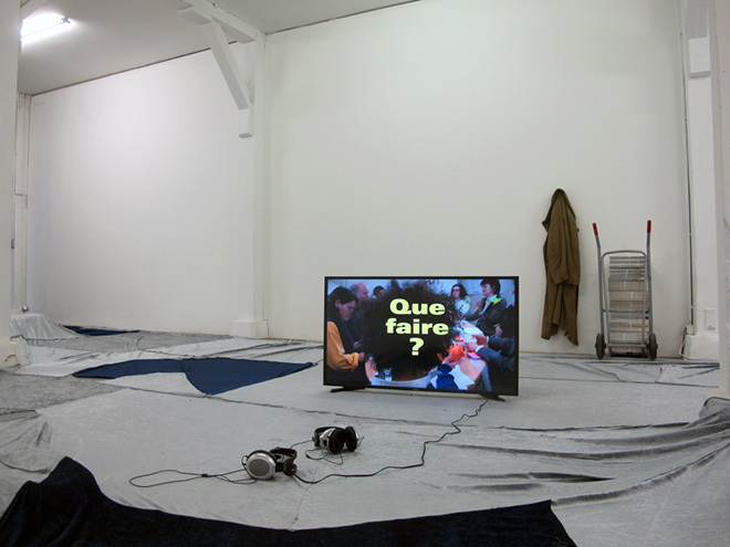 The Night Shift. Installation View. Courtesy of the artist and Piedras Gallery, Buenos Aires