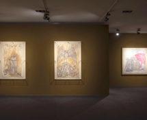 Avremo anche giorni migliori. Zehra Doğan. Opere dalle carceri turche. Installation view, Museo di Santa Giulia, Brescia. Courtesy of Fondazione Brescia Musei