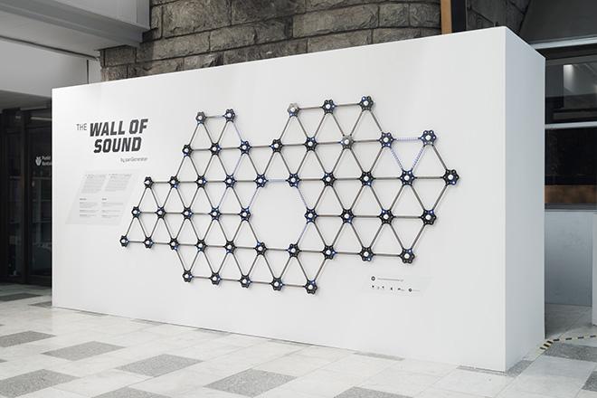 PAN GENERATOR - WALL OF SOUND, Katowice Street Art 2019: Urban Sound. photo by Maciej Jędrzejewski