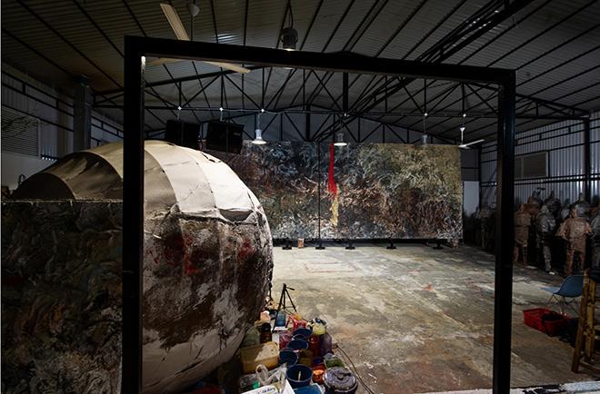 HENRY LE - Soul Energy, Arsenale Nord di Venezia, 2020.