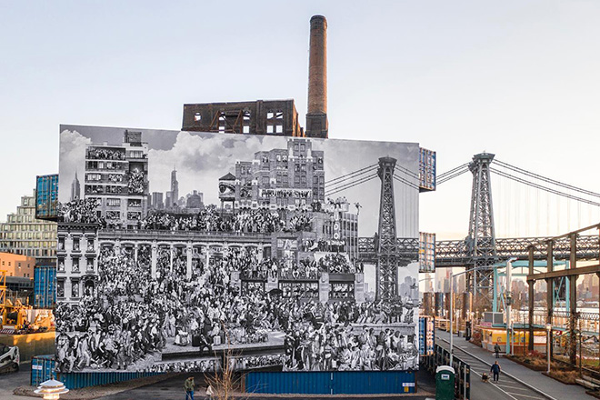 JR – The Chronicles of New York City