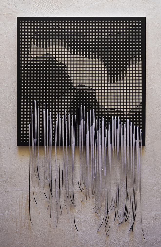 Sten Lex - Screen 1, stencil poster, 90 x 90 cm. MAGMA gallery
