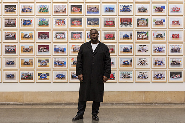 Portrait of Steve McQueen in Year 3 at Tate Britain. ©Tate. Photo Jessica McDermott