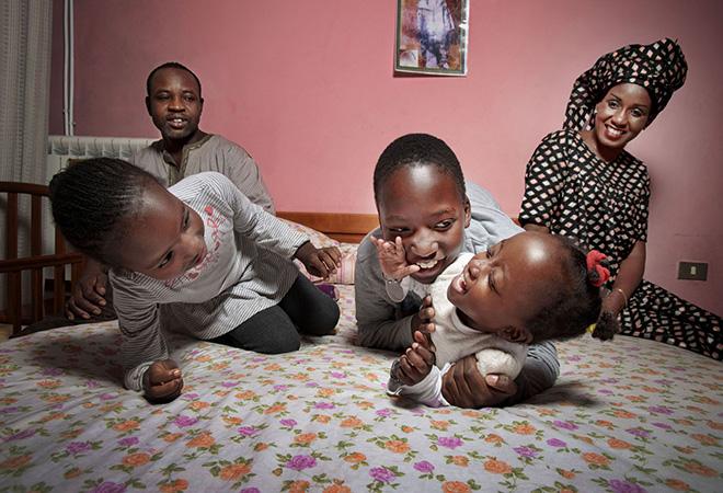 Tutte le ore del mondo - Buonanotte, Mareme e la sua famiglia, Senegal @FondazioneBracco, Gerald Bruneau