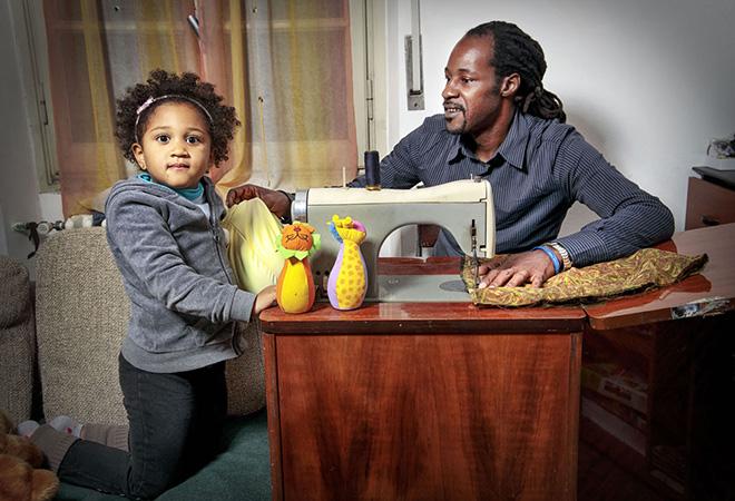 Tutte le ore del mondo - Il gioco in casa, Assane e Lyssa, Senegal Italia @FondazioneBracco, Gerald Bruneau