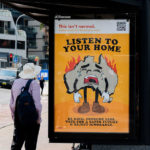 Bushfire Brandalism – Arte pubblica sovversiva in Australia