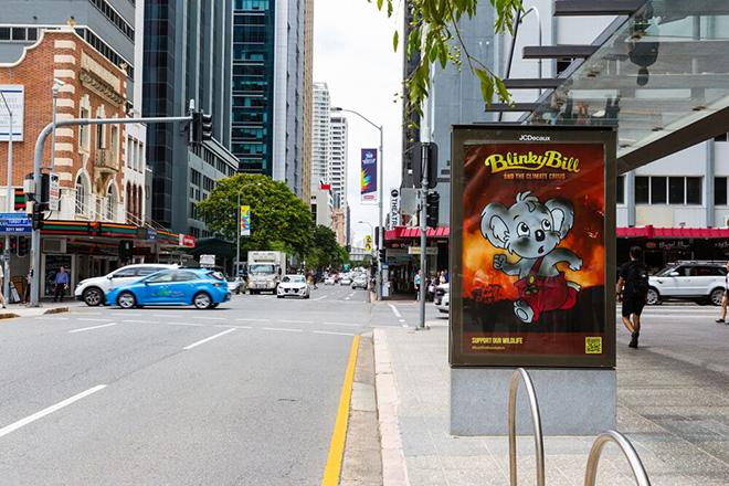 Bushfire Brandalism - Arte pubblica sovversiva in Australia
