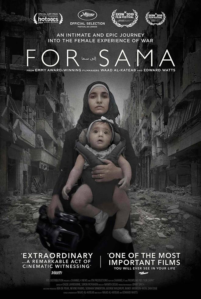 For Sama - Documentario. Directed by Waad al-Kateab and Edward Watts