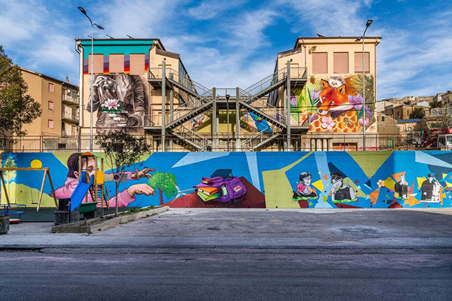 WOL per XibetArt – Riqualificazione urbana a Calascibetta
