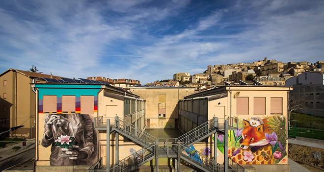WOL per XibetArt - Riqualificazione urbana a Calascibetta. photo credit: Mariasanta Buscemi