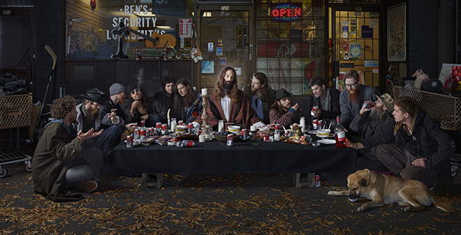 Dina Goldstein - The Last Supper East Vancouver, CREATIVE, URBAN 2019 Photo Awards