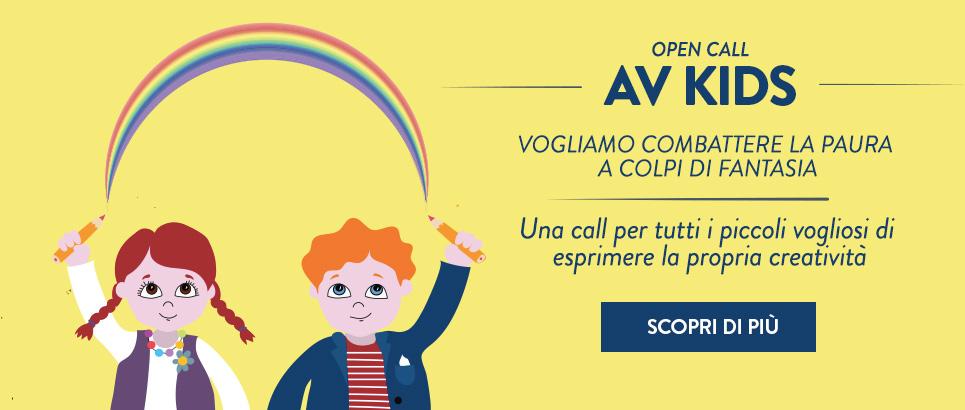 AV KIDS - Call per bambini: combattere la paura a colpi di fantasia