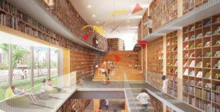Tadao Ando - Nakanoshima Children's Book Forest, Osaka, Japan
