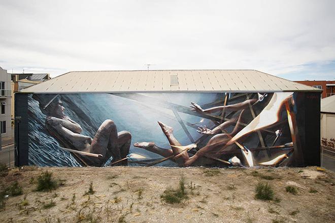 "Vesod Brero – ""Dive"", Wonderwalls, Port Adelaide"