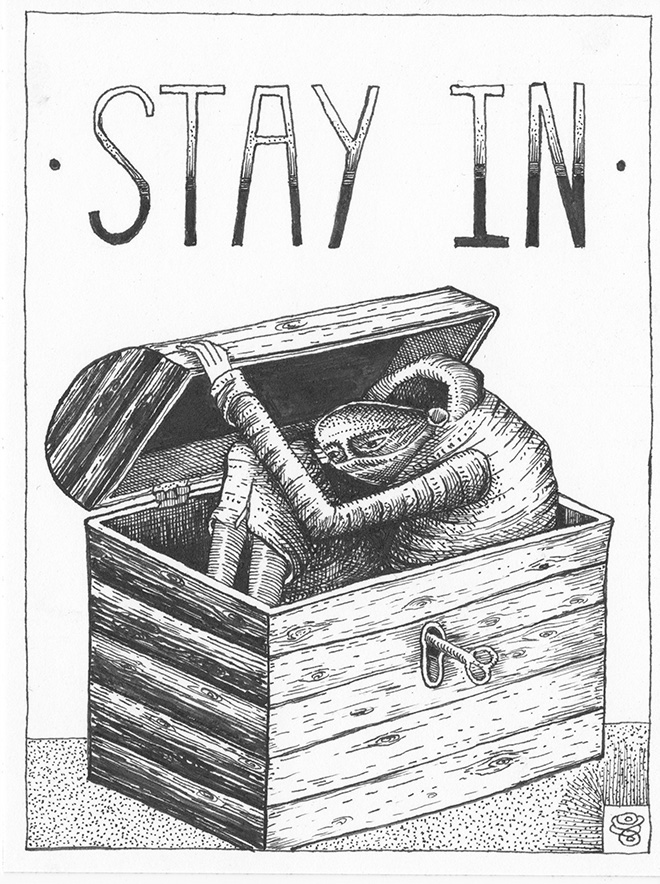Phlegm - Stay in, Pandemic Diary