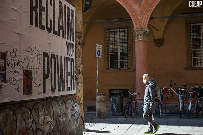 CHEAP - RECLAIM your power, Bologna. photo credit: Michele Lapini