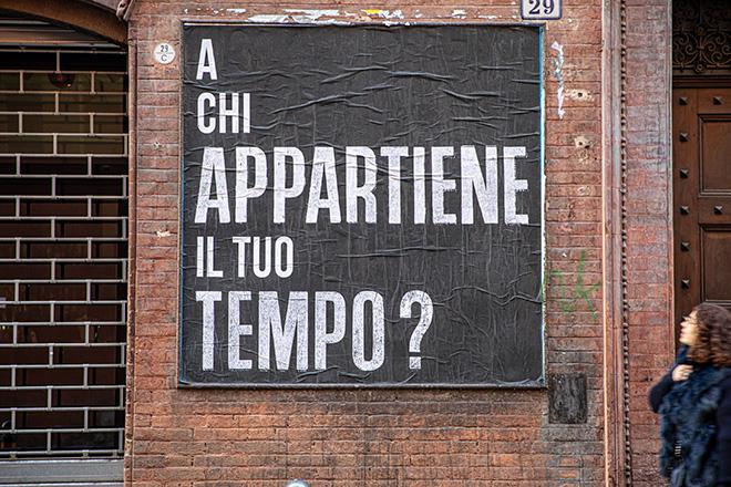 CHEAP - A chi appartiene il tuo tempo?, Bologna