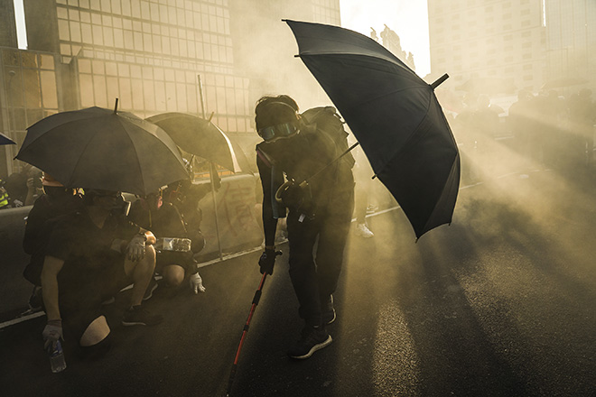 © Go Nakamura, United States - In the fog of teargas, Particular Merit Mention, All About Photo Awards 2020