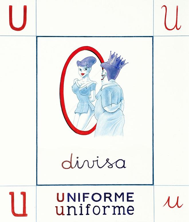 Giuseppe Stampone - Italia divisa o uniforme, per CuraCultura