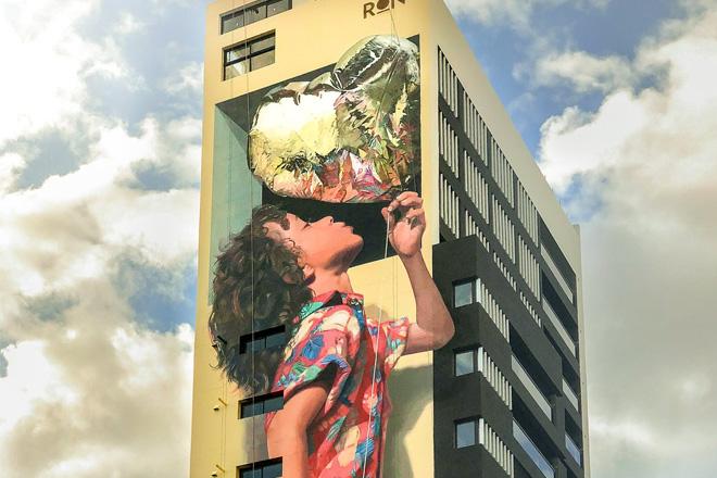 Martin Ron – Murale a Banfield