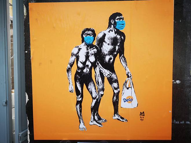 Hunters by Biodpi (Fabio Della Ratta) - Street Art File Print - Poster Art ad Ischia