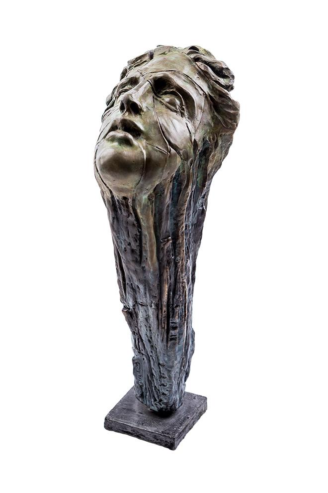 Michal Jackowski - Scream of Earth, 2017, Bronze 41 x 19 x 16 cm, 16.14 x 7.48 x 6.3 in Edition 1 of 12