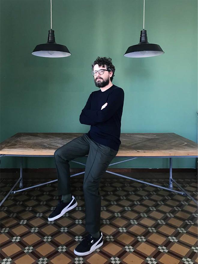 Luisa Carcavale - THE LOCK DOWN PEOPLE, Francesco, Director / Milan
