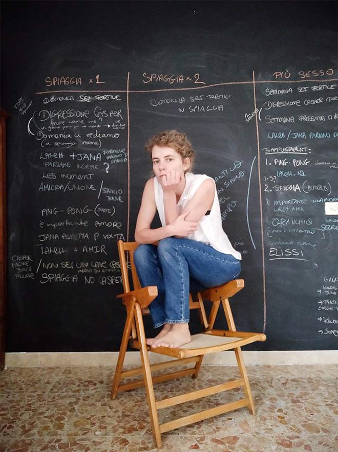 Luisa Carcavale - THE LOCK DOWN PEOPLE, Malina, Director / Rome