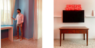 Luisa Carcavale - THE LOCK DOWN PEOPLE, Davide, Art Director / Eboli