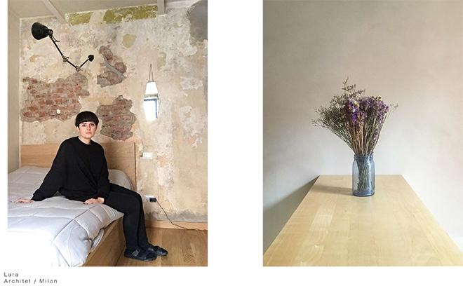 Luisa Carcavale - THE LOCK DOWN PEOPLE, Lara Architect / Milan