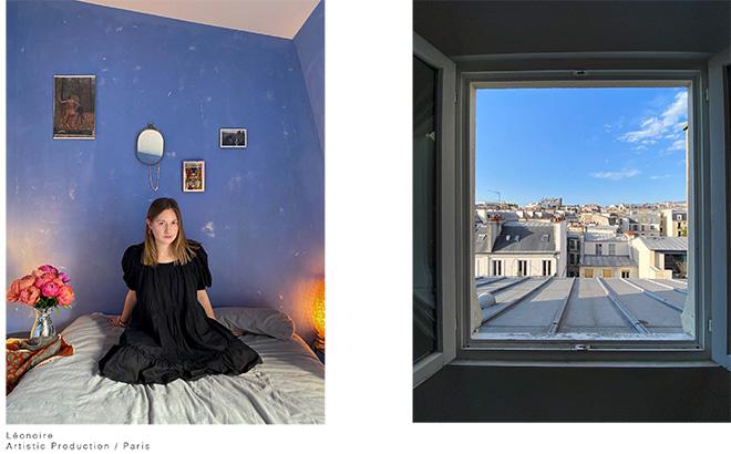 Luisa Carcavale - THE LOCK DOWN PEOPLE, Léonoire, Artistic Production / Paris