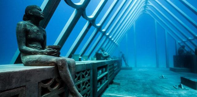 Jason Decaires Taylor – MOUA (Museum of Underwater Art)