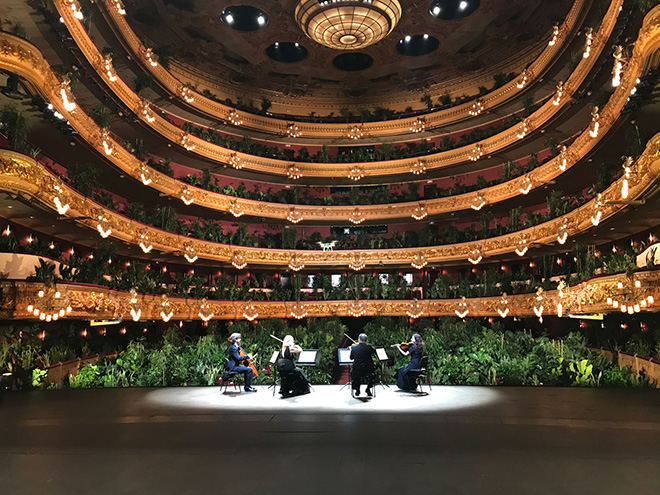 Gran Teatre del Liceu di Barcellona & Eugenio Ampudia - Concierto Para el Bioceno