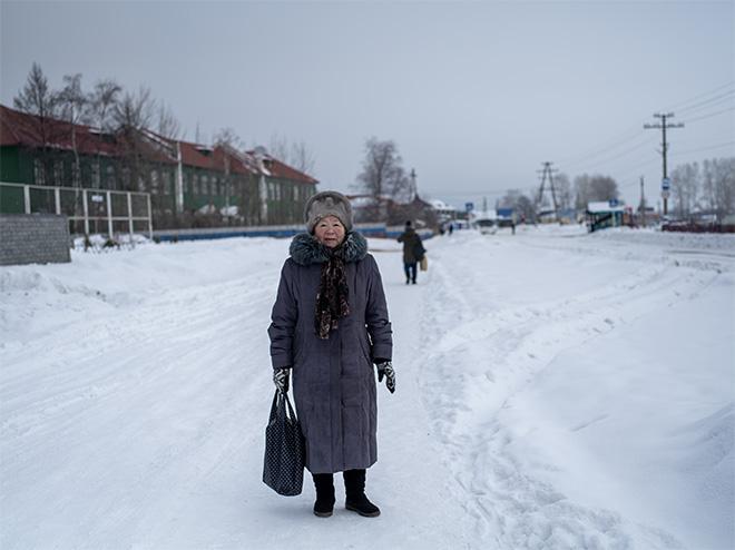 ©Natalya Saprunova - Isolated: life around Baikal lake (series). In the streets of Nizhneangarsk, Buryatia Republic in Russia