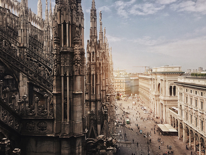 Haiyin Lin, China - Duomo di Milano, Location: Milan, Italy Shot on iPhone X. First place - Architecture. © IPPAWARDS - 2020 Winners