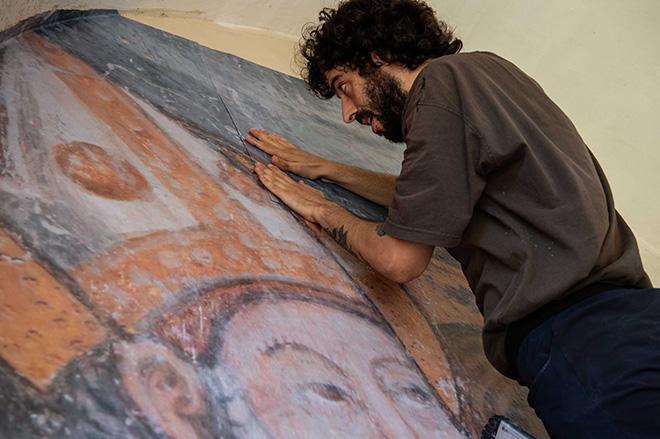 SBAGLIATO - Strappo alla Regola, (work in progress), TraMe - Tracce di Memoria, Rieti. Photo credit: Marco Bellucci